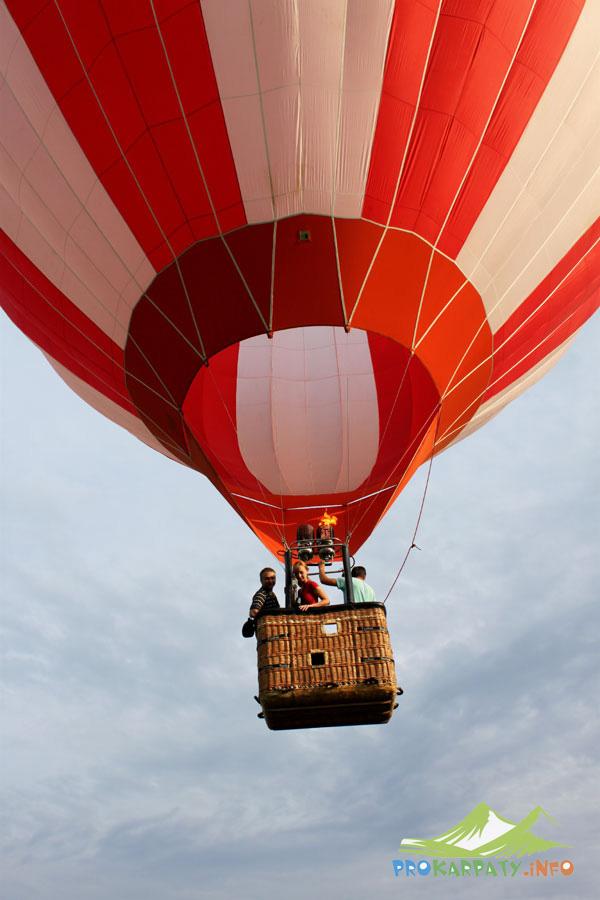 Подарок впечатление полет на воздушном шаре 81